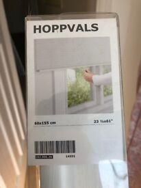 IKEA 'Hoppvals' Blind--White--60cm x 150cm--Never been used, Original Packaging