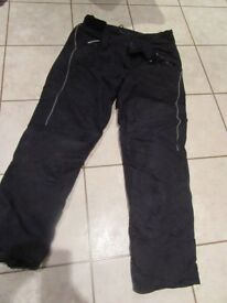 Motor Cycle Trousers, XL