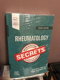 Rheumatology SECRETS Book for Doctors *NEW*