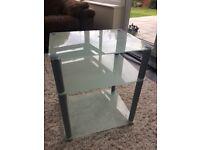 Glass unit/table