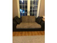 Free Sofa. Comfortable but has a little wear!