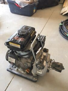 """1"""" centrifugal water pump with gas engine LIKE NEW"""