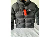 The north face nuptse 700 puffer coat jacket