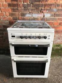 Flavel gas cooker 60cm white