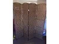 Bamboo partition