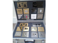 New wall fittings (switches and sockets) - £20 - by end February
