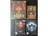 Diablo PC game bundle/lot - retro games