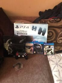 PlayStation 4 Star Wars + Games Bundle 1TB Jet Black Console