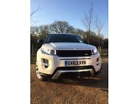 Range Rover Evoque Dynamic Lux SD4, 20 MONTH LR WARRANTY, TOP SPEC