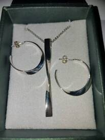 Brand new in box sterling silver set