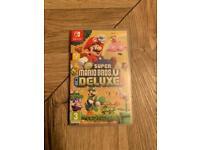 Super Mario Bros Deluxe - Nintendo Switch game