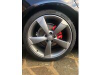 Audi Genuine 20 Inch Rotor Wheels