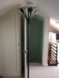 Tiffany standard lamp- uplighter