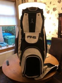 Ping pioneer golf cart bag for sale .