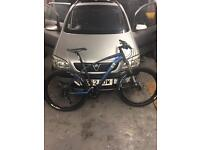 13 incline mountain bike size large