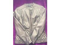Wallis faux leather jacket size 10