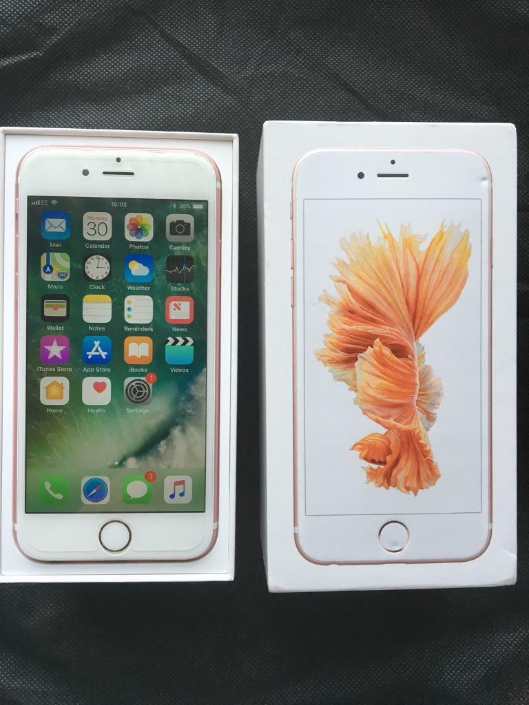 iPhone 6S Unlocked 16GB Rose Gold Very Good Condition