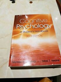 Cognitive psychology Uni book