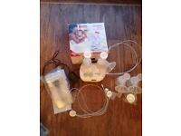 Ameda lactaline double Breast pump& feeding cover