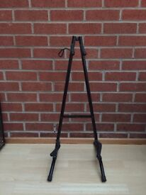 Foldable Guitar Stand — Black
