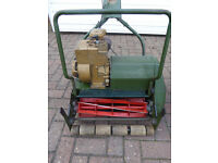 Reconditioned Webb lawnmower - blades and cutter plate reground