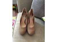 Clarks wedges size 5.5 worn once