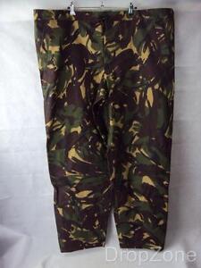 Genuine British Army DPM Camo Goretex Wet Weather Over Trousers Waterproof
