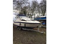 Bayliner Ciera 21ft Cabin Cruiser 4-berth