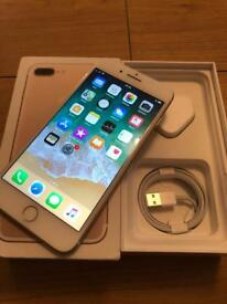 iPhone 7 Plus, 128GB, locked to EE rose gold
