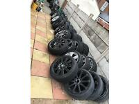 Bmw SINGLE SPARE alloy wheel Mv1 Mv2 Mv3 Mv4 M5 M6 Ac Schnitzer CAN POST ANYWHERE