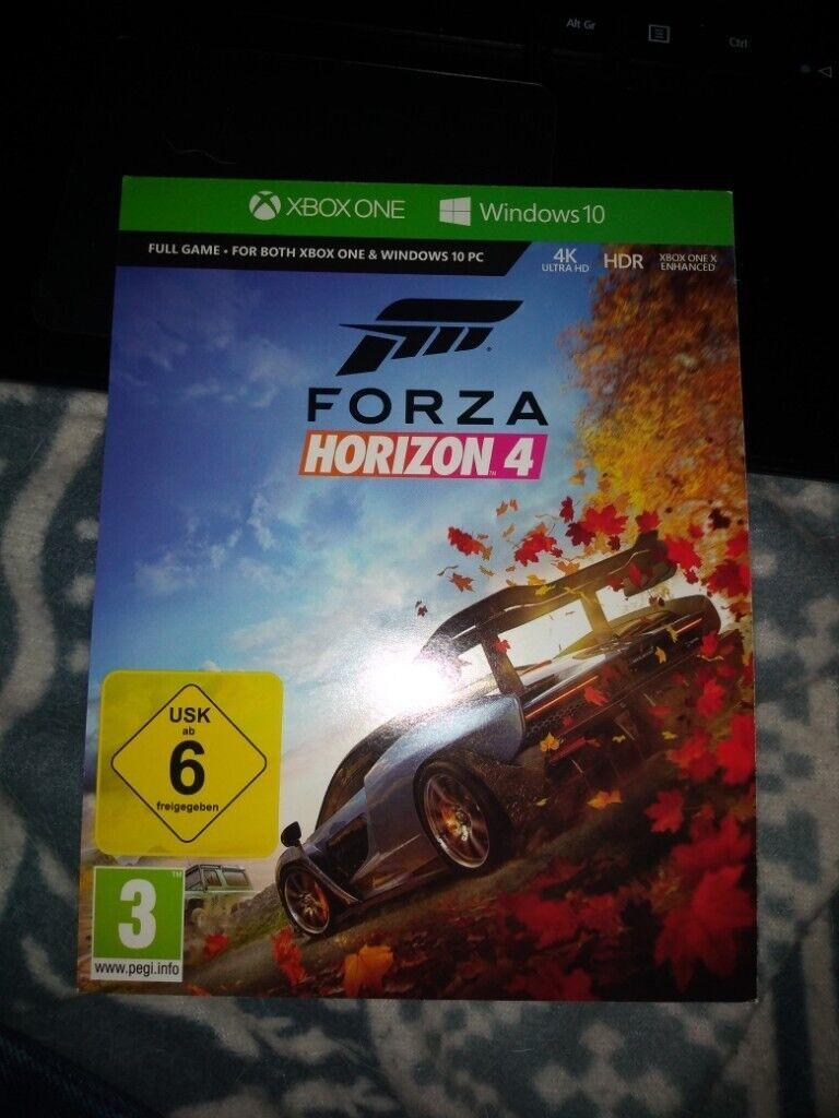 Forza Horizon 4 unused Xbox one / Windows 10 download code | in Southside,  Glasgow | Gumtree