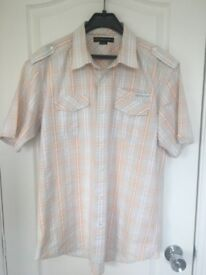Mens short sleeved Rockport shirt XXL size