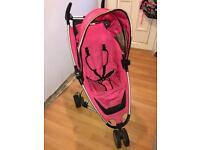 Pink baby / toddler girls quinny pram