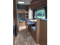 Swift 6 berth top of the range caravan