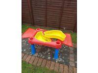 Childrens sand & water table