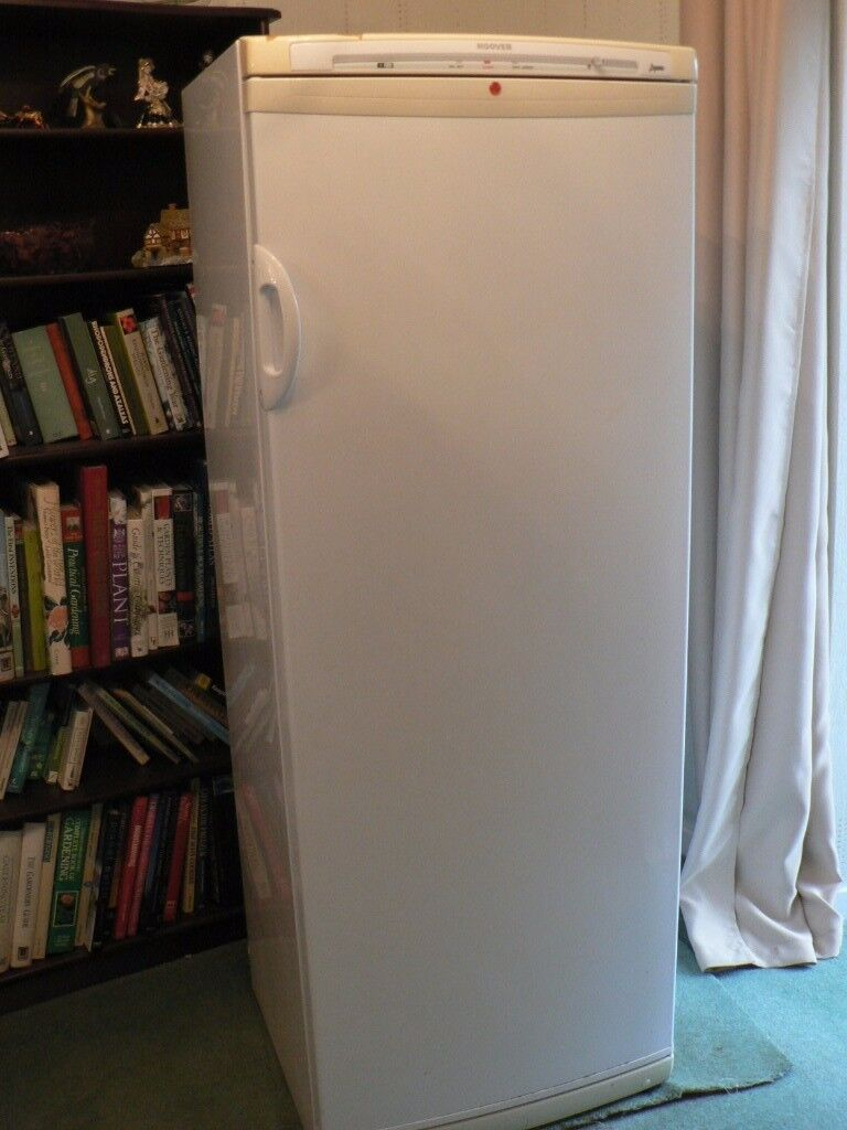 Hoover Upright FREEZER, 162cm tall, Old but working, FREE to First to Collect