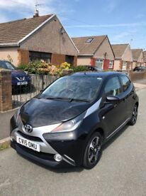 TOYOTA AYGO 1.0 VVT-i x-clusiv 5dr: In great condition, full MOT, £0 tax, cost effective insurance