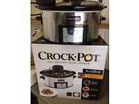 Bath Gently Used Crock Pot Slow cooker with automatic stirrer option. Nice Piece Like NEW