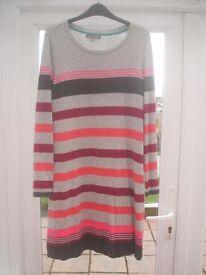 Laura Ashley size 14 coloured dress,