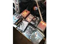 Box of 150 Plus DVDs