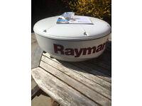 "Raymarine RD218 2kw 18"" Analogue Radar Radome C/E series Compatible"
