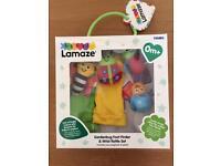 Brand new Lamaze Garden bug rattle set