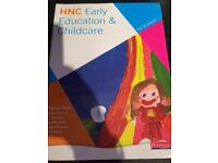 HNC Early Education and childcare book