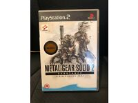 Metal Gear Solid 2 Ultimate Collectors Edition With Booklet and Both Disks