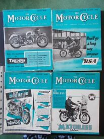 """""""Motor Cycle"""" magazine, 42 issues £20"""