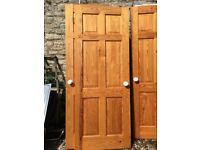 """Solid Wood Internal Door 2'6"""" Wide"""