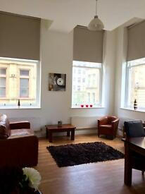 BD1 Little Germany. Contemporary 1 bed roomed apartment, fully furnished.