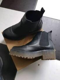Black Boots size 4