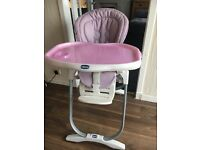 Baby to Toddler Chicco High Chair