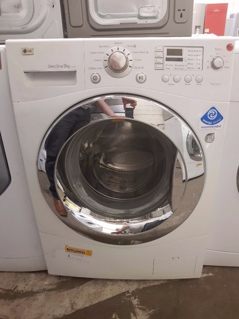 LG Washing Machine (9kg6 Month Warrantyin Liverpool City Centre, MerseysideGumtree - Top Of the Range LG Direct Drive Washing Machine (9kg, 1400 spin) (Latest Model) Fully Refurbished Excellent Condition 6 Month Warranty Free Local Delivery Removal Of Old Appliance Many Makes and Models Liverpool Appliances 25 County Road Walton L4...